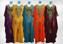 casual night clothes chiffon kaftan dresses - kaftan dress - wholesale kaftan dress - 2013 latest design dubai kaftan dress
