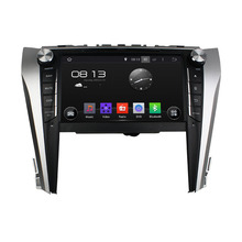 Klyde quad core1.6GHz RAM 1gb hot sale 9 inch android 4.4.4 CAMRY 2015 car dvd with gps bluetooth FM AM Radio Ipod TV