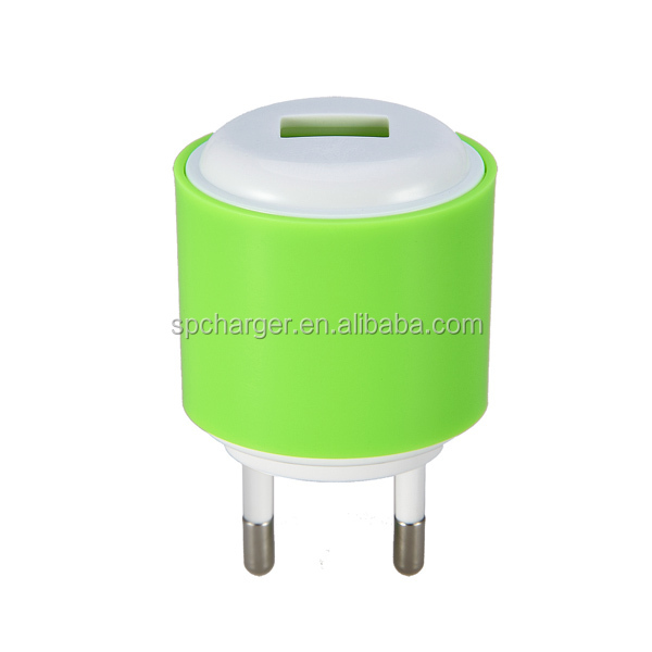 5V 1.5A single USB mobile travel charger for Android charger pass CE&FCC with IC