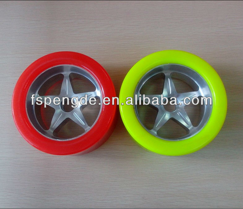 Trolley Wheel Pu Polyurethane Rubber Plastic