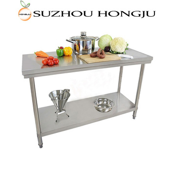 Multifunction Double kitchen stainless steel sink work table