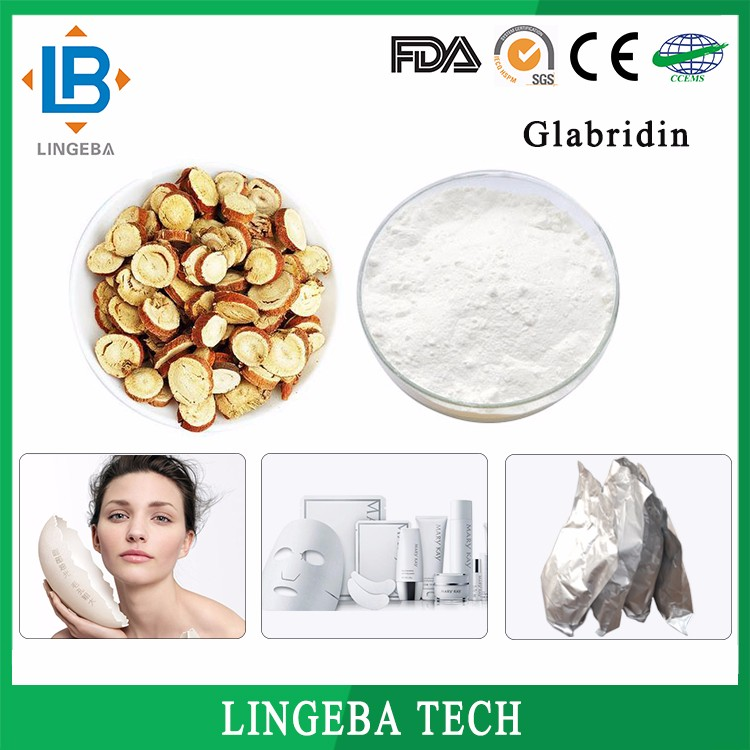New Organic Chinese Herb Glabridin 90% For Face Skin Care