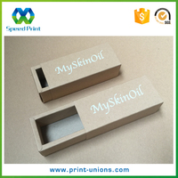 2016 Professional customized essential oils packaging box, printing box for skin care products packing
