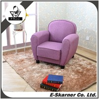 E-Skarner 2016 modern living room furniture sofa armchair by purple color fabric