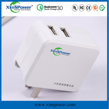 5V 3.4A usb wall charger portable highest technology table phone charger