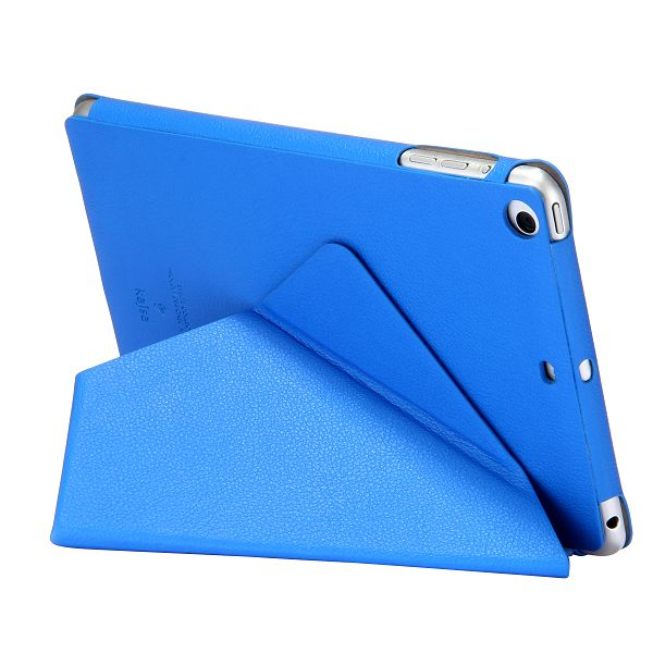 Kajsa Smart Wake Up/Sleep Stand Flip Leather Case for iPad Mini 2 Retina