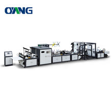 Ultrasonic sealing computerized non woven bag maker machine