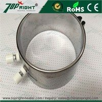 Stainless Steel Mica Band Heater for plastics injection molding, extrusion and blow molding machines