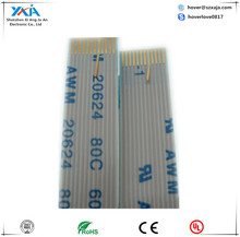 30pin 0.3mm pitch lvds ffc cable flexible flat cable assembly