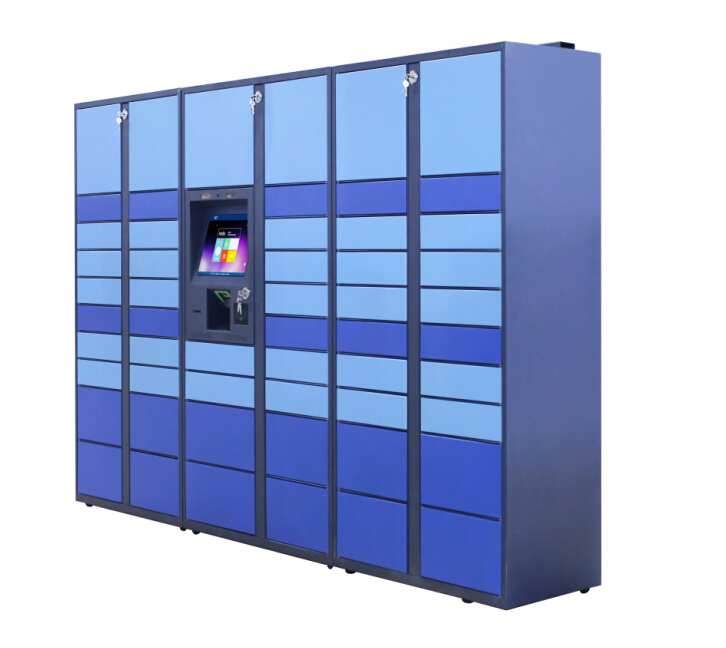 24 hours Intelligent Parcel Locker outdoor type