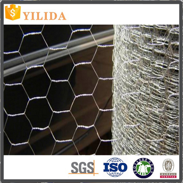 "1/2 Inch 4"" Pvc Coated Hexagonal Wire Mesh"
