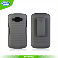 hot sale tough shockproof plastic pc holster cover case for samsung j1 ace for cell phone stand
