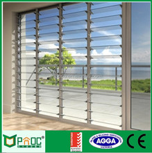 2017 New Intelligent Custom Metal Louver Window