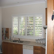 Wholesale quality white pvc plantation shutter from china