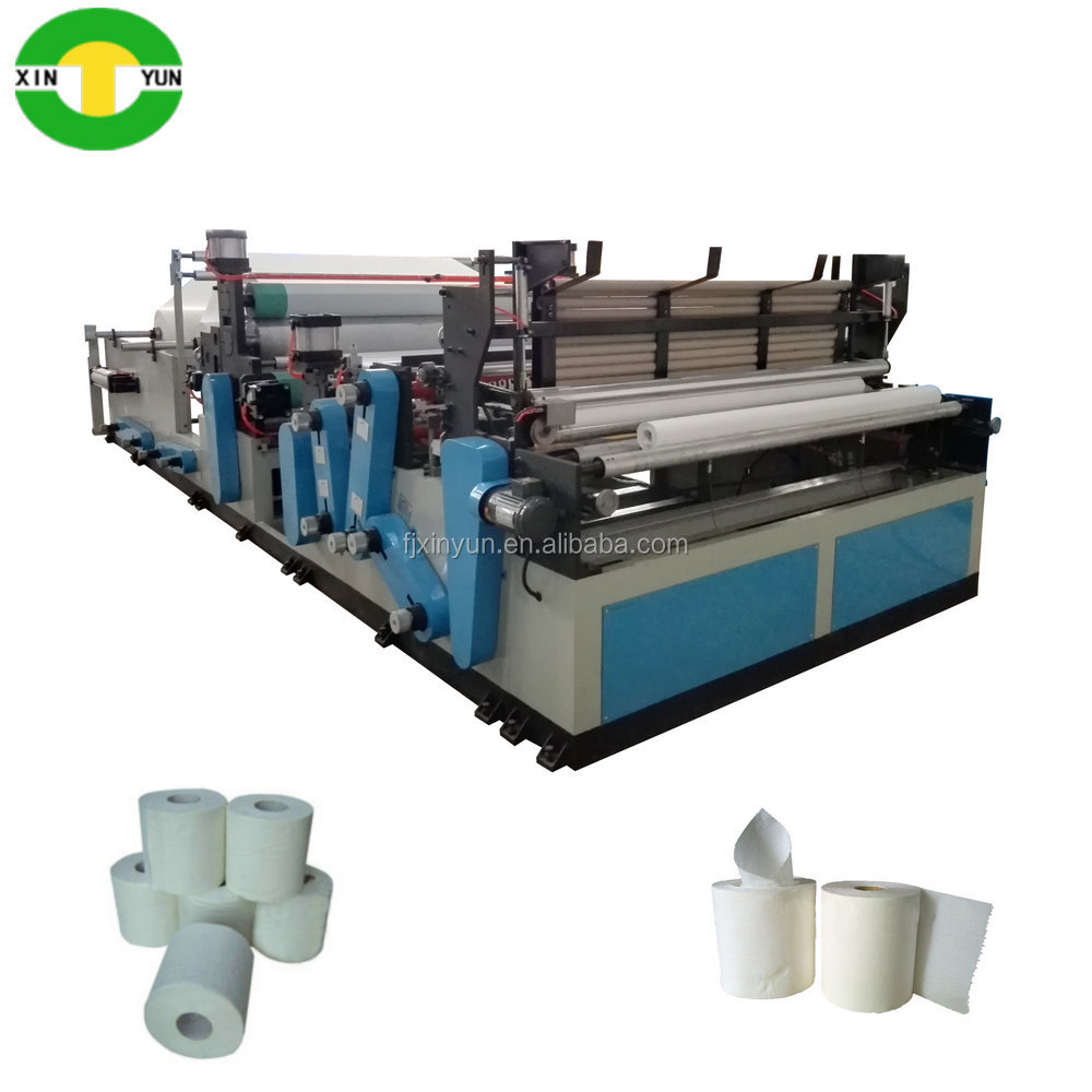 High performance tissue toilet paper manufacturing machine for sale