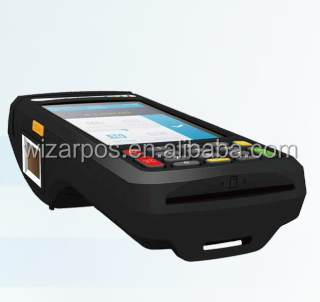 Mobile Android 5.1 POS terminal with certified PIN PAD