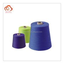 High Quality Dyed PC yarn polyester and combed cotton yarn