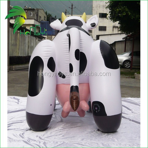 advertising inflatable pvc cow /pvc toys/inflatable animal