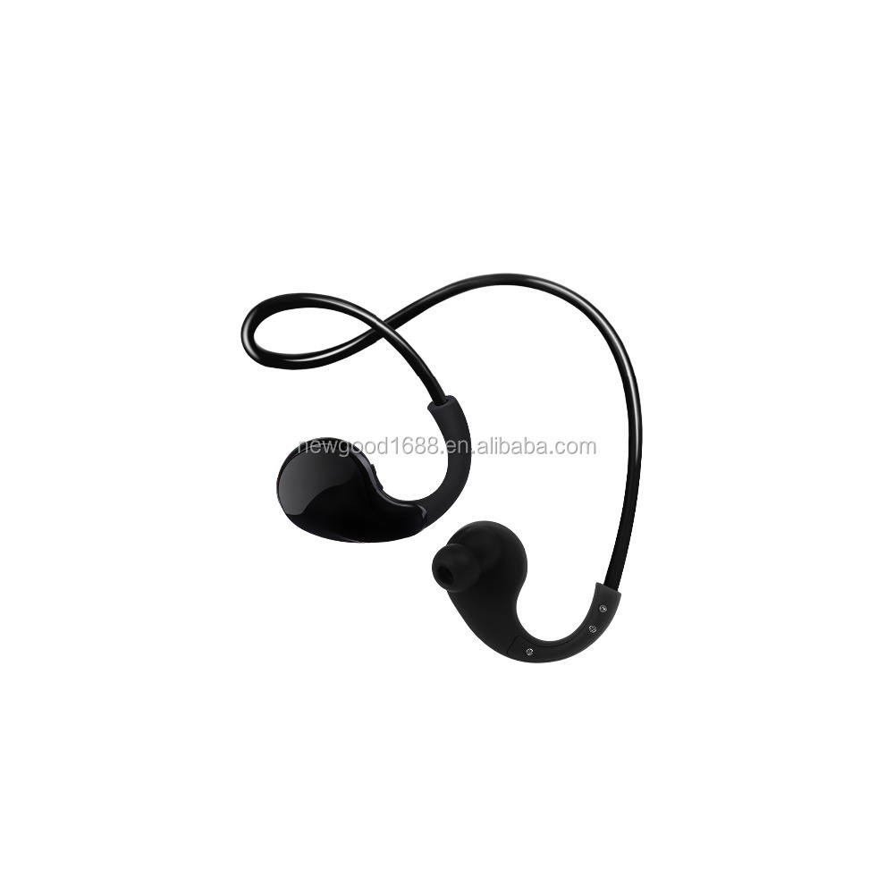 High quality Sports Stereo Wireless <strong>Bluetooth</strong> 4.0 Headset Earphone Headphone Smartphone Black edging