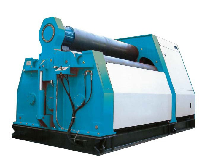 W12 16x3200mm hydraulic 4 rolls symmetrical plate bending roller machine price