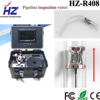 High definition and clear robot camera underwater pipe inspection equipment