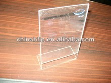 Special hot sale slat wall acrylic sign holder