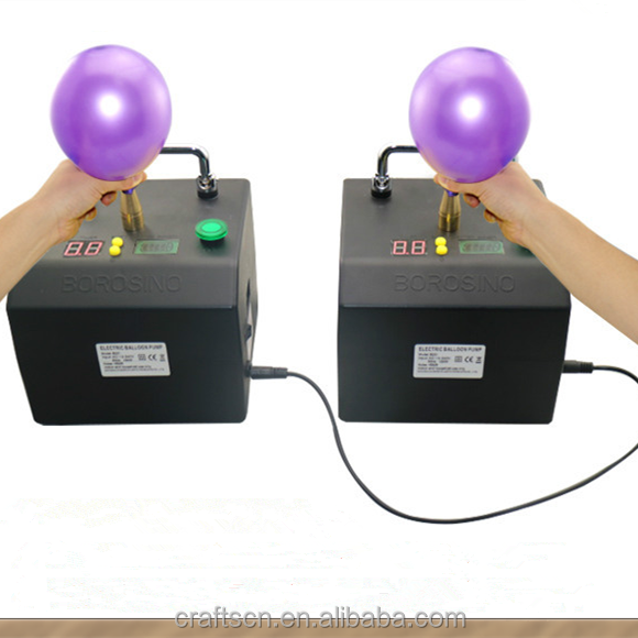 Electric balloon pump inflator