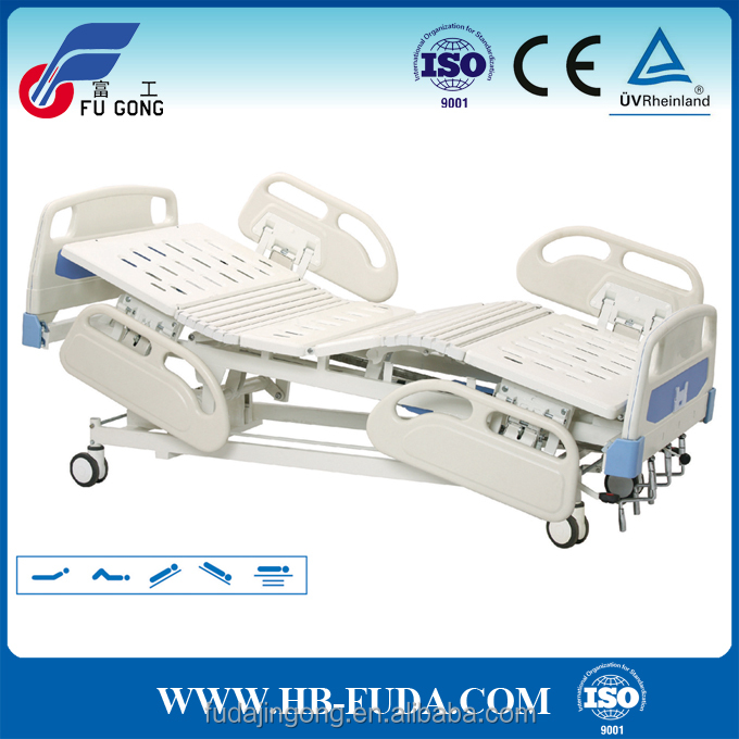 Hot sale multi-function easy operating manual medical hospital folding bed