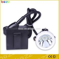 led corded underground miners head torch portable safety miners lamp