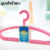 5pcs/pack Plastic Frosted Coat Hanger