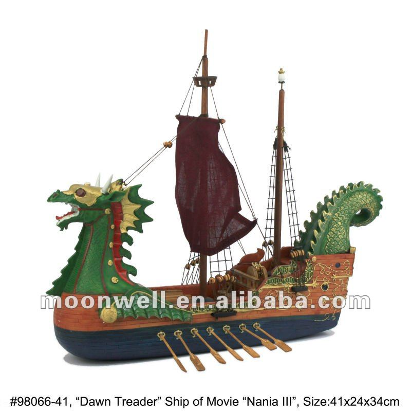 The Voyage of the Dawn Treader, The Chronicles of Narnia, Movie boat dragon ship kids' toy home decoration novelty nautical gift