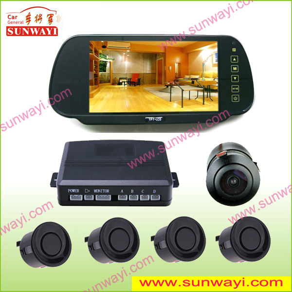 Vedio Night Vision Camera Parking Sensor with Bluetooth
