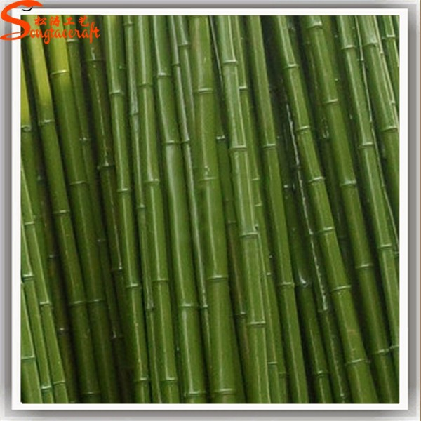 Wholesale outdoor artificial lucky bamboo fence high