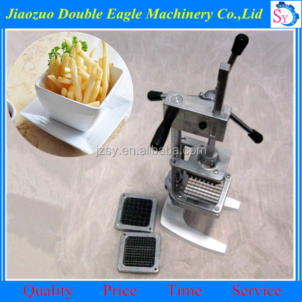 Commercial Restaurant Manual Potato Chips Cutter/Hand vertical French fries machine