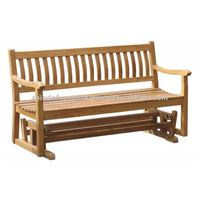 Teak Patio Furniture - Glider Bench