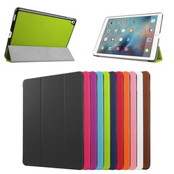 Hot Selling High Quality Flip Stand Leather Case for ipad Pro 9.7 & 12.9inch , for ipad pro tablet cover