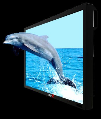 "Glasses-Free professional ultra high bightness 3D monitor 46"" - xyZ AS3D Display"