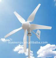 400W Wind Turbine generator 250W solar panel hybrid solar wind power generation system