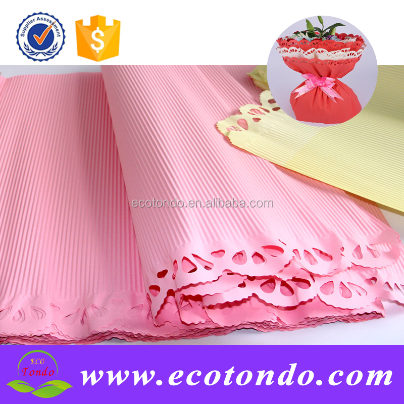 popular flower and gift wrappers corrugated paper box wrappings