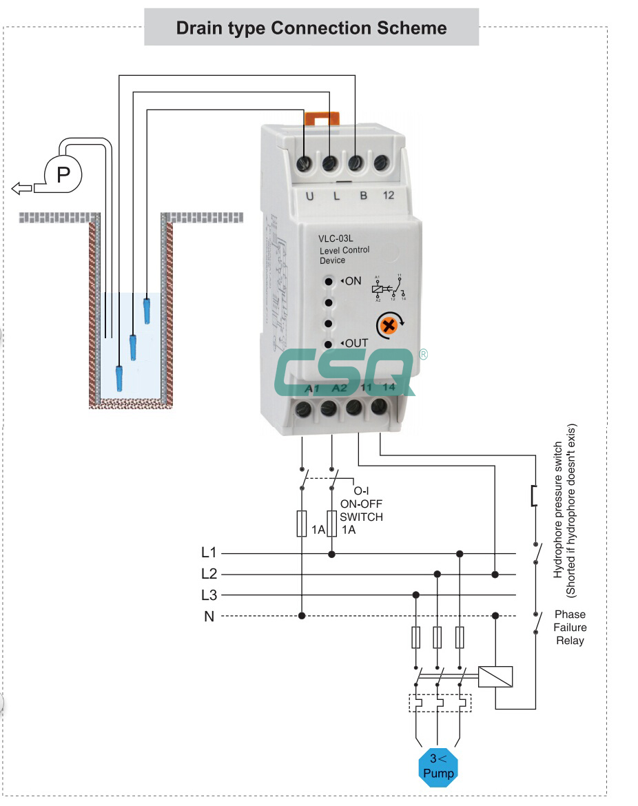 Vlc 03l Automatic Water Level Controller Relay Buy