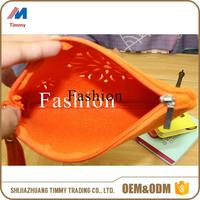 felt material long women handmade bag made in China