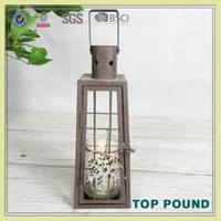 Wholesale Products China Factory Produce Metal Candle Lantern
