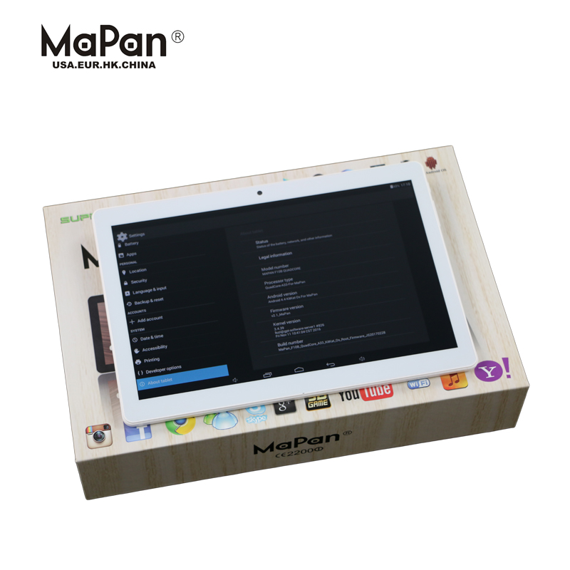 MaPan F10B 3g MTK6572 1GB/16GB 10 inch tablet pc with sim card slot phone mobile