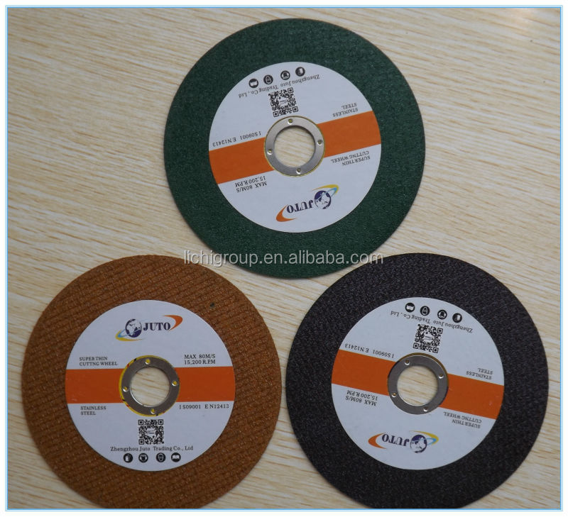 India BF hot sale 4 inch super thin cutting disk for metal