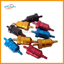 Exquisite colorful pit bike fuel filter for motorcycle for sale