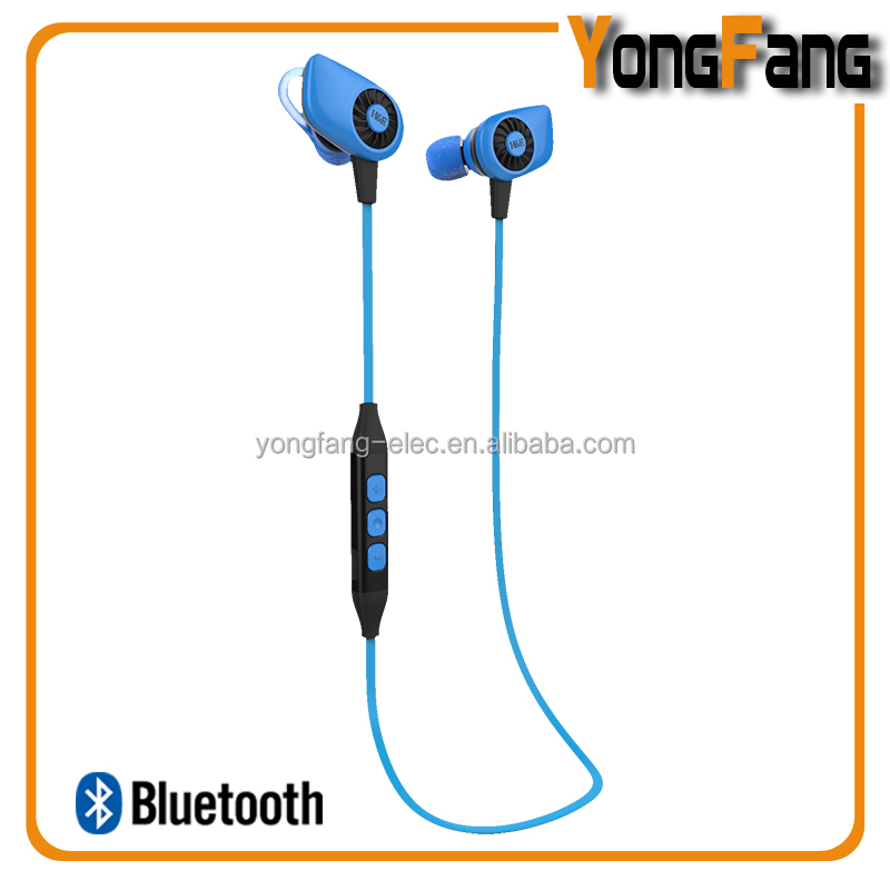 2015 newest neckband in-ear bluetooth 4.1 wireless super mini bluetooth headset