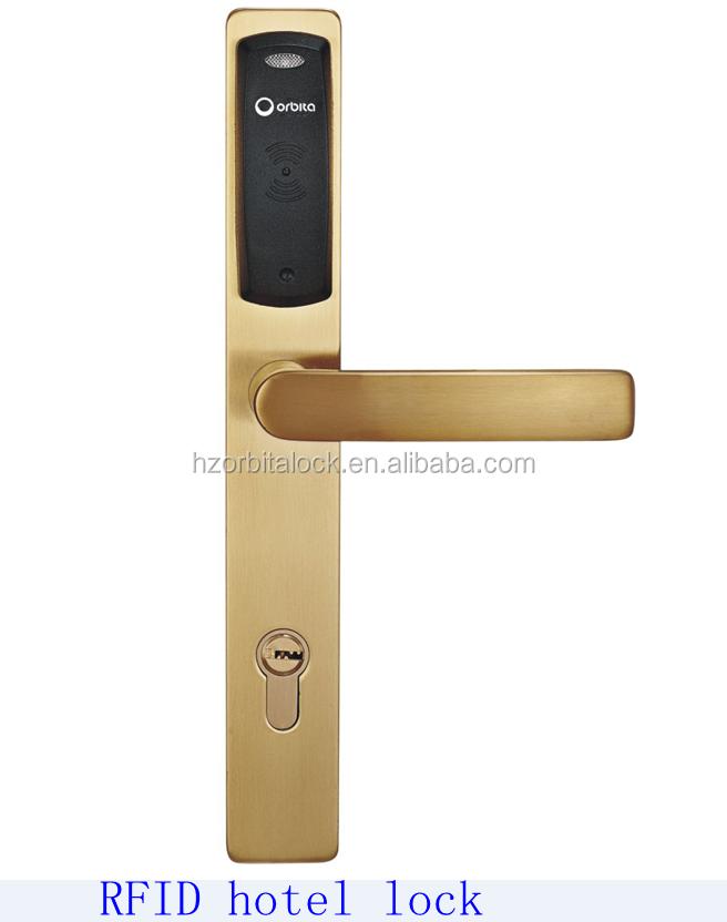 Fingerprint lock touch screen brass cylinder lock for 1 touch door lock