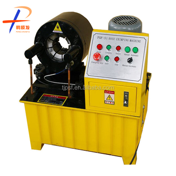 CE Certified PSF-51 6-51mm/(1/4-2'') hydraulic hose crimper / hose crimping machine