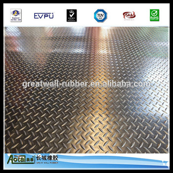 great wall good quality Wide Plate Rubber Flooring Rolls