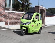 China 1000W closed electric tricycle with passenger seat